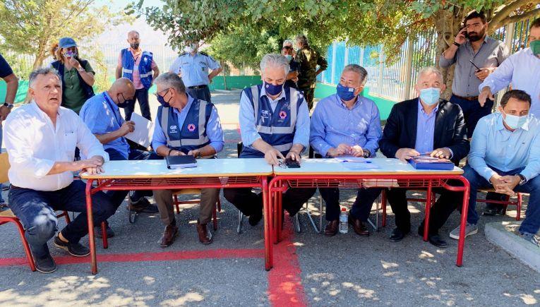 Χ. Στυλιανίδης: Πρώτα η μέριμνα για διαμονή και διατροφή των πληγέντων του σεισμού