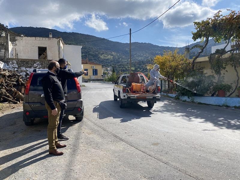 Ηράκλειο: Κρούσματα κορωνοϊού σε χωριά της Μεσαράς και στο... ΕΚΑΒ! (φωτογραφίες)
