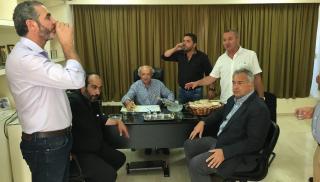 Ειδήσεις έβγαλε η επισκεψη του Μάκη Βορίδη για τους αγρότες της Κρήτης (φωτογραφίες)