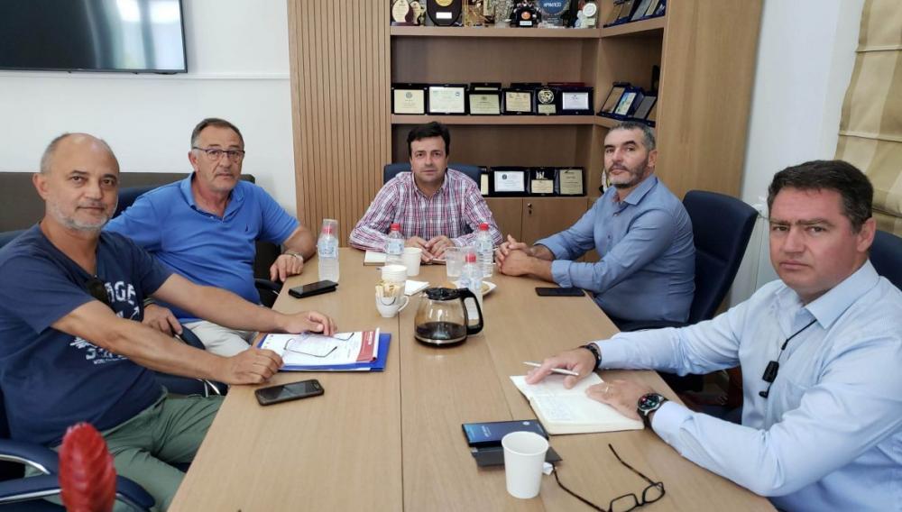 Σύσκεψη για τα θέματα του πρωτογενή τομέα στο Δήμο Χερσονήσου
