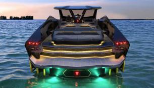 Η Lamborghini παρουσιάζει το Powerboat  (βιντεο)