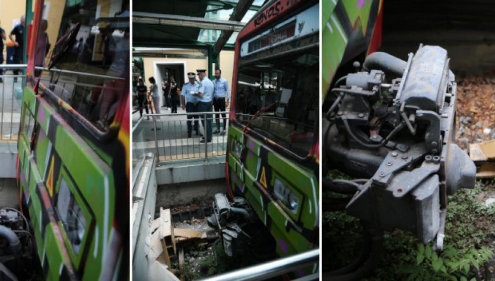 Πώς έγινε το ατύχημα με το τρένο στην Κηφισιά και τους 8 τραυματίες