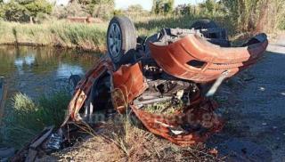 Σκοτώθηκε 23χρονος σε φοβερό τροχαίο - Το αμάξι έφυγε με ταχύτητα εκτός δρόμου