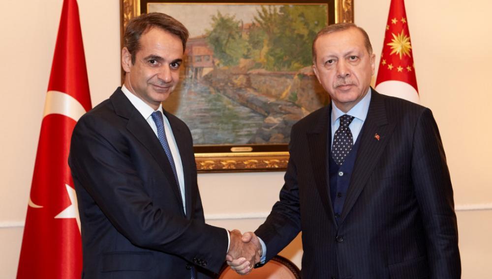 Επικοινωνία Μητσοτάκη - Ερντογάν: Με στόχο να πέσει η ένταση