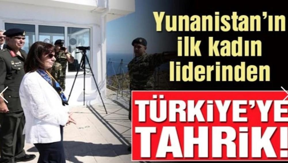 Παραληρηματικά δημοσιεύματα από την Τουρκία για την επίσκεψη της Κ. Σακελλαροπούλου στο Αγαθονήσι