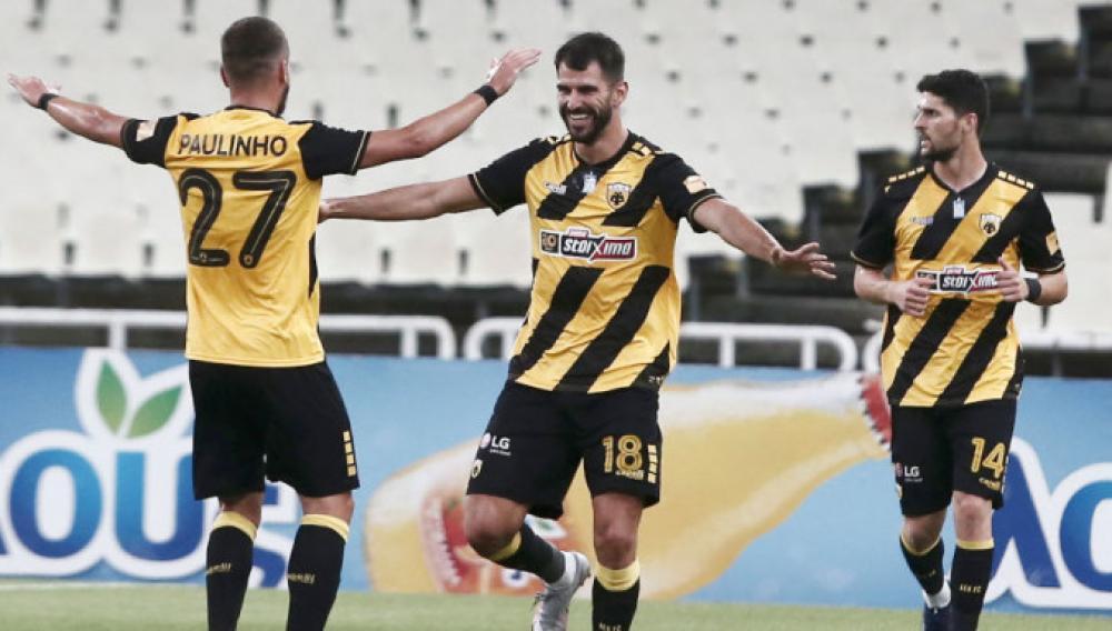 Η ΑΕΚ άνετο 2-0 επί του ΟΦΗ