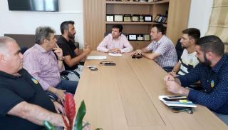 Συνάντηση Αντιπεριφερειάρχη με τους εκπροσώπους του σωματείου επισιτισμού-τουρισμού