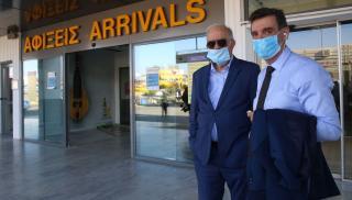 Ο Δήμαρχος Ηρακλείου στην υποδοχή των πρώτων τουριστών