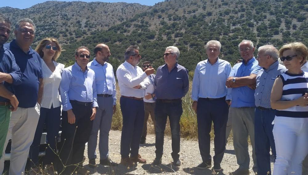 Έργα 5,5 εκ ευρώ θα εκτελέσει ο Ο.Α.Κ. στην «Λιμνοδεξαμενή Αγίου Γεωργίου στο Οροπέδιο Λασιθίου»
