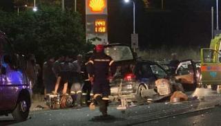 Ηράκλειο: Δραματικές οι σκηνές μετά το θανατηφόρο τροχαίο (φωτογραφίες)