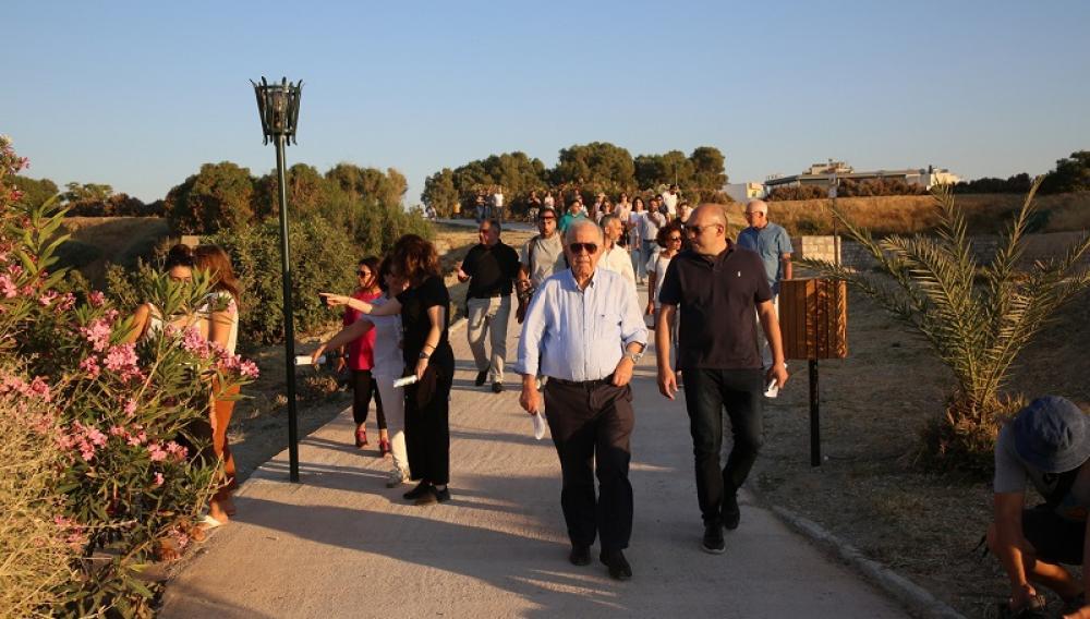 Ηράκλειο: Ο περίπατος του Λαμπρινού σε ένα από τα σημαντικότερα μνημεία της πόλης (φωτογραφίες +βίντεο)