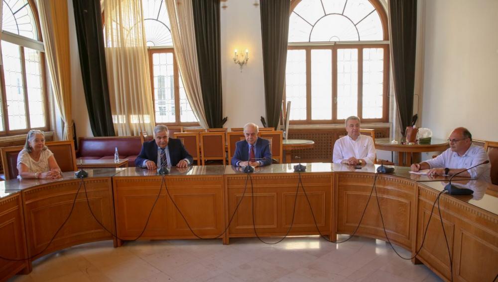 Υπεγράφη η σύμβαση  για το φάκελοτου Ειδικού Χωρικού Σχεδίου για την Νέα Αλικαρνασσό
