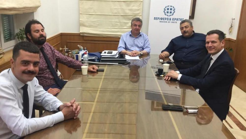 Με την ηγεσία του ΑΔΜΗΕ συναντάται ο Σταύρος Αρναουτάκης