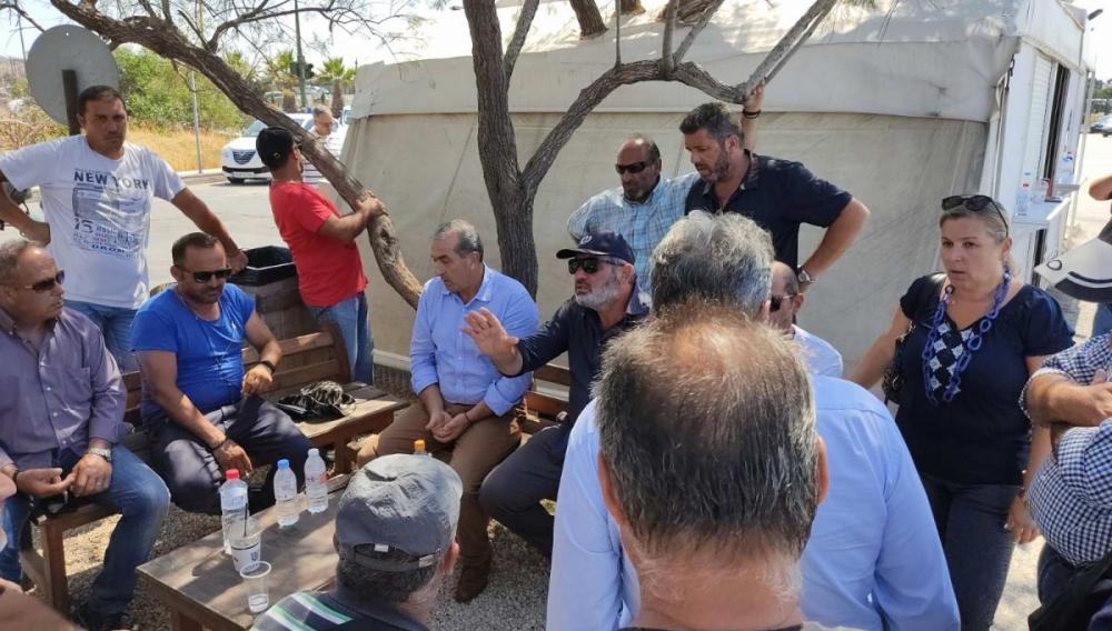 Ηράκλειο: «Δεν κάνουμε πίσω ούτε βήμα στα δικαιώματά μας» -Συνεχίζουν τον αγώνα τους
