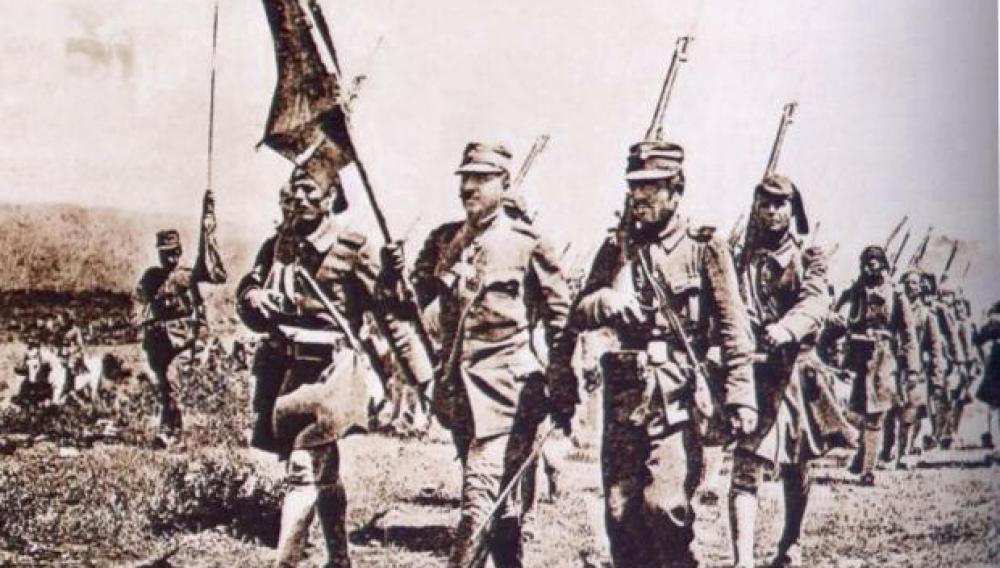 1917: Η Ελλάδα εισέρχεται επισήμως στον Α' Παγκόσμιο Πόλεμο