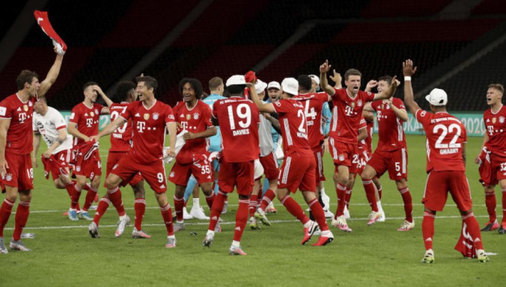 Κύπελλο Γερμανίας: Το... σήκωσε και αυτό η Μπάγερν Μονάχου