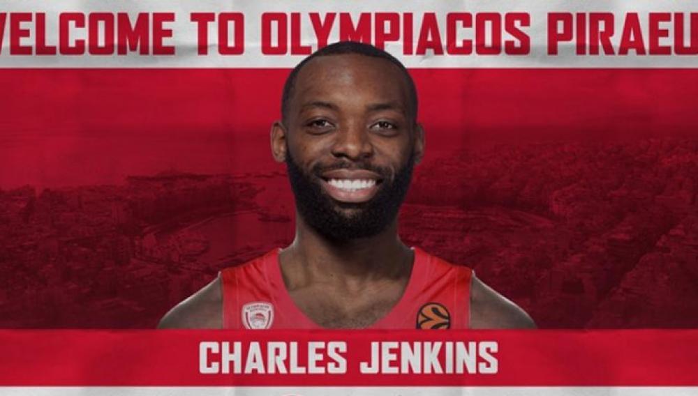 Ολυμπιακός: Ανακοίνωσε την απόκτηση του Τσαρλς Τζένκινς