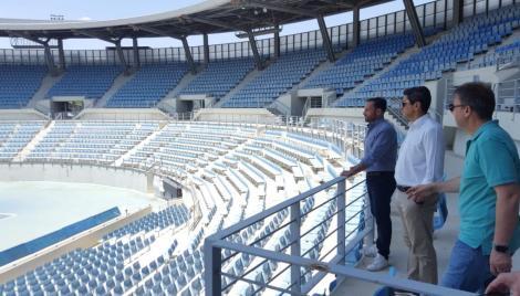 Σε πλήρη εξέλιξη οι εντατικές εργασίες  των εγκαταστάσεων τένις στο ΟΑΚΑ