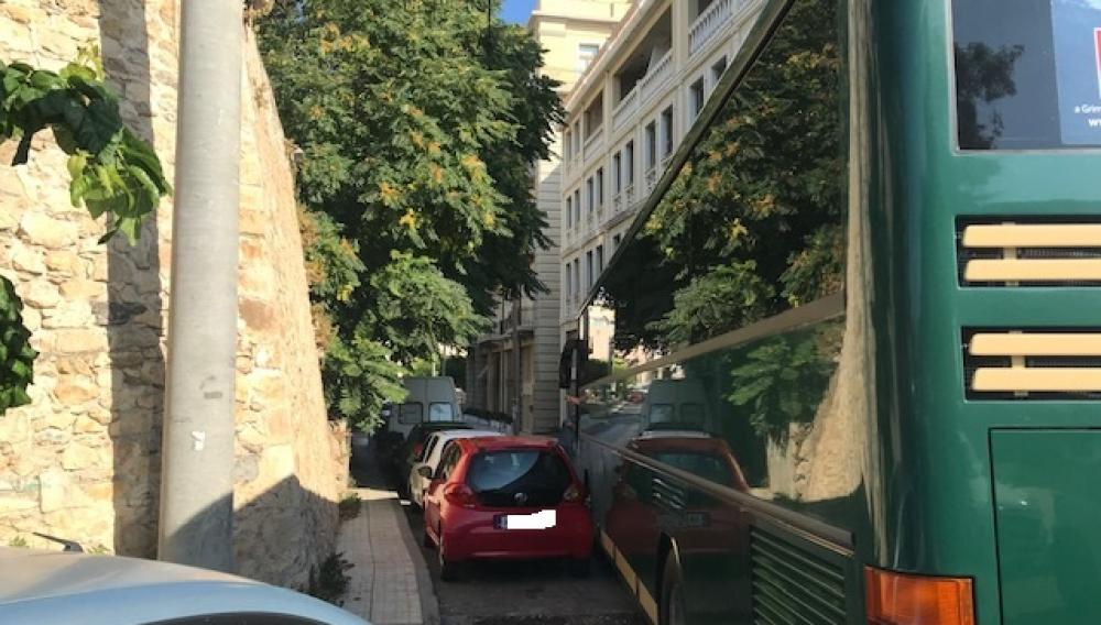 Ηράκλειο: Εκεί όπου «φρακάρουν» τα λεωφορεία! (φωτογραφίες)
