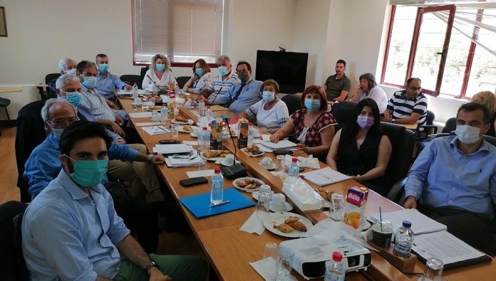 Συνάντηση με τις Διοικήσεις των νοσοκομείων, για τη Λένα Μπορμπουδάκη