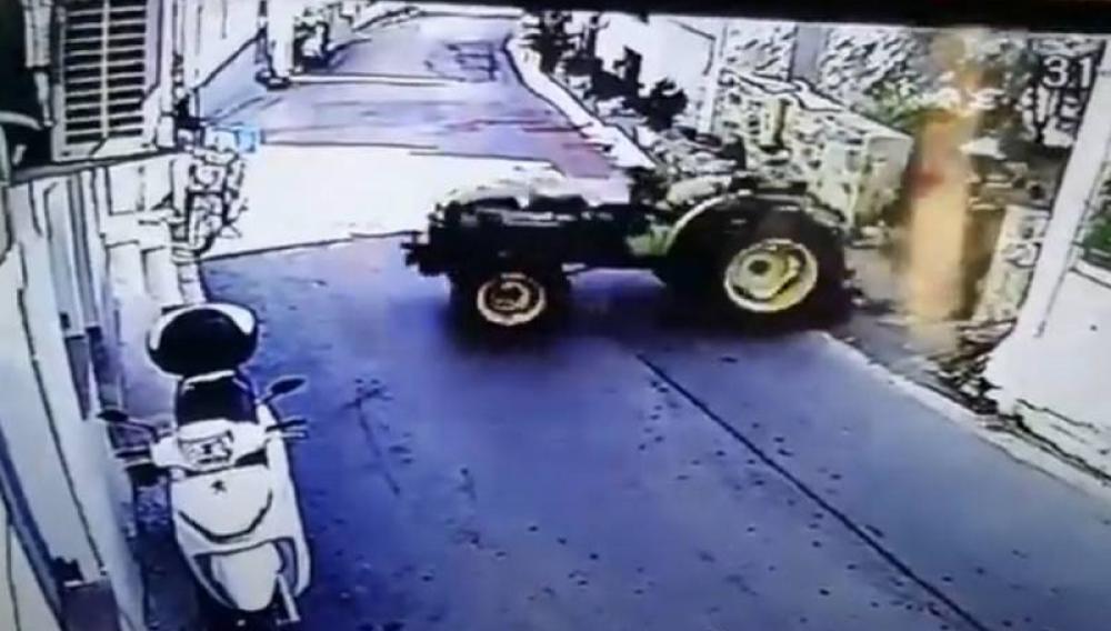 Τρακτέρ φονιάς στη Βιάννο (βίντεο)