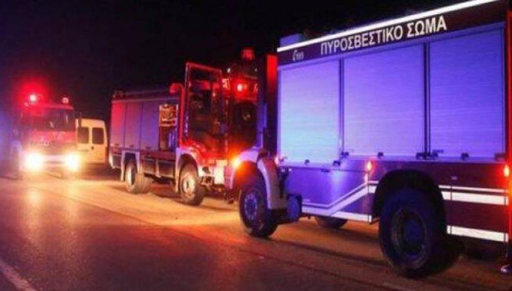 Πυρκαγιά στη Γρα Λυγιά Ιεράπετρας - Oι φλόγες έφτασαν κοντά σε επιχείρηση
