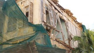 Ηράκλειο: Προχωρούν στο συμβολικό αποκλεισμό ετοιμόρροπου κτιρίου!