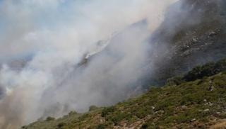 Μεγάλη πυρκαγιά στα Χανιά