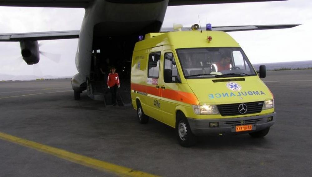 Από τη γέννηση του στο...νοσοκομείο - Αεροματαφορά στην Κρήτη