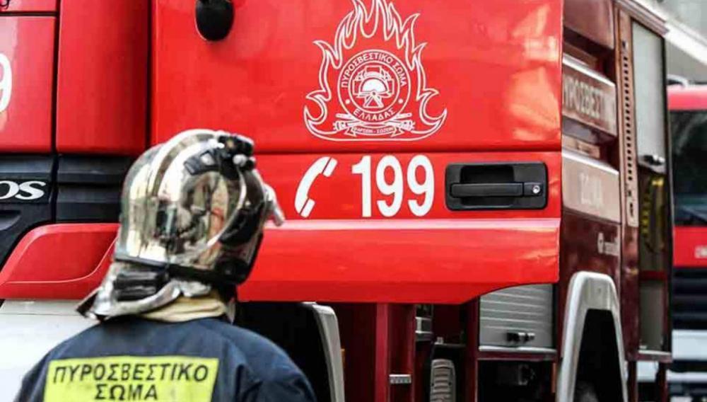 Ηράκλειο: Αυτοκίνητο τυλίχθηκε στις φλόγες