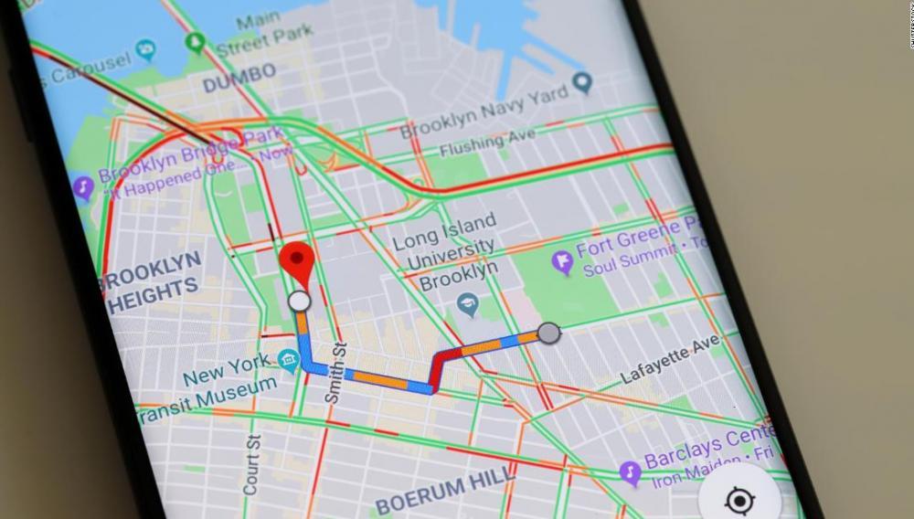 Βελτιώσεις στην απεικόνιση λεπτομερειών στο Google Maps