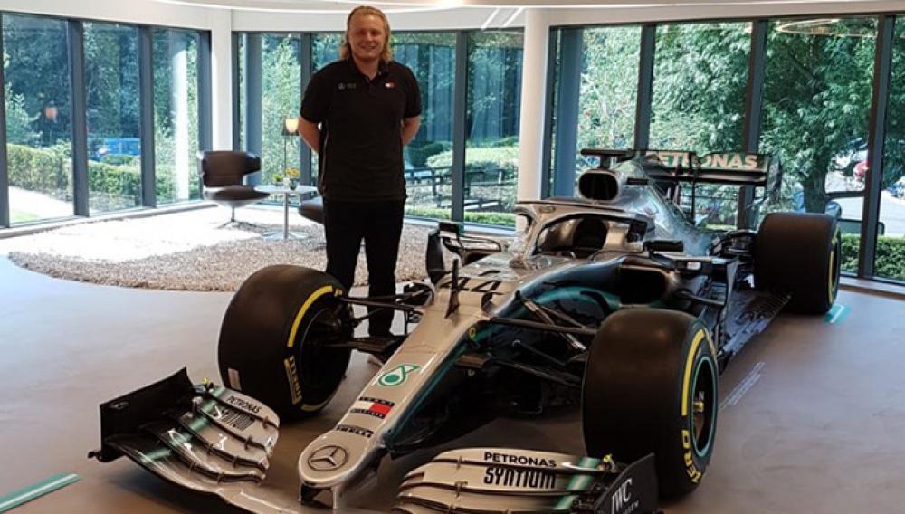 Μιχάλης Χαλκιόπουλος: Ένας ακόμη Έλληνας στη Formula 1 (Mercedes)