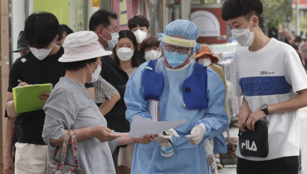 Νότια Κορέα: Τα περισσότερα κρούσματα από τις 8 Μαρτίου