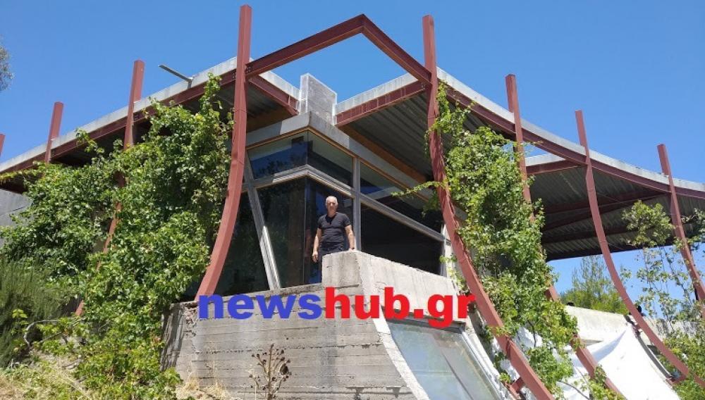 Θέμα newshub.gr: Ένα σπίτι, μοναδικό στον κόσμο, βρίσκεται στις… Αρχάνες (φωτογραφίες)