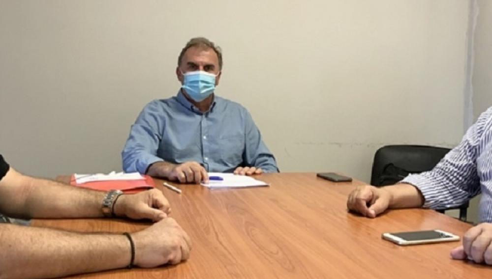 Με τον νέο Διευθυντή της Δευτεροβάθμιας Εκπαίδευσης Λασιθίου ο Δήμαρχος