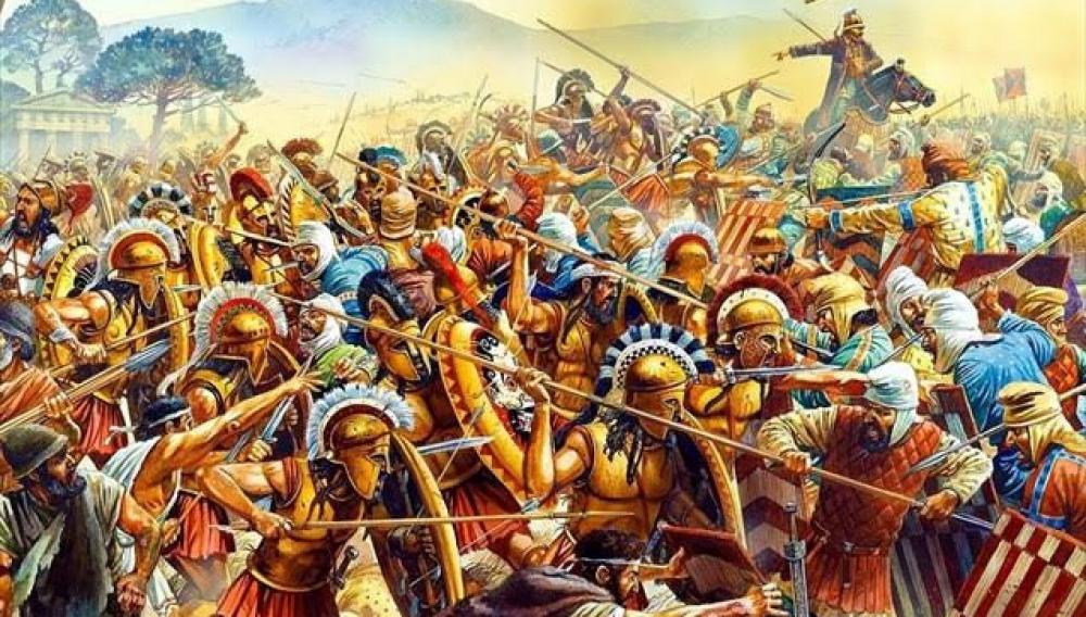 Τον Αύγουστο του 479 π.Χ. οι Έλληνες νικούν του Πέρσες