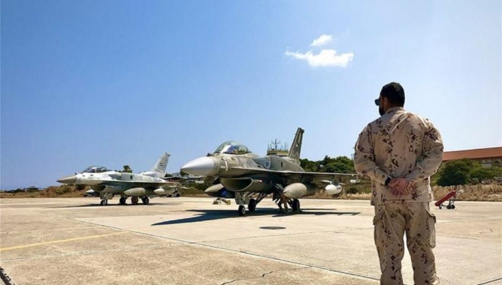 Κρήτη: Στη Σούδα τα «γεράκια» των Ηνωμένων Αραβικών Εμιράτων (φωτογραφίες)