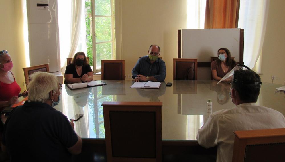 Προχωρά η οργάνωση του Κοινωνικού Φροντιστηρίου του Δήμου Ηρακλείου