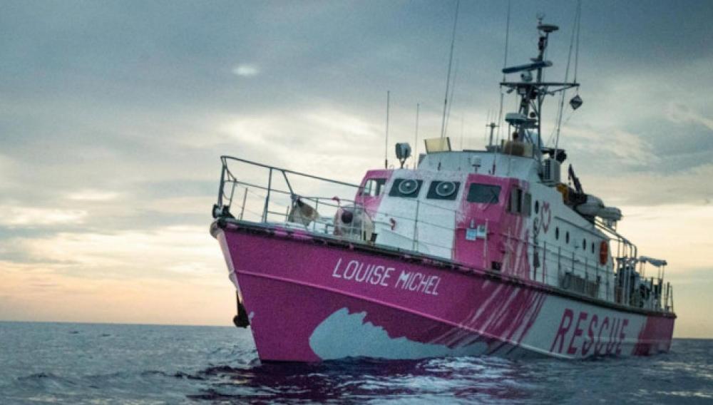 Μυστηριώδης street artist χρηματοδότησε πλοίο για τη διάσωση προσφύγων στη Μεσόγειο