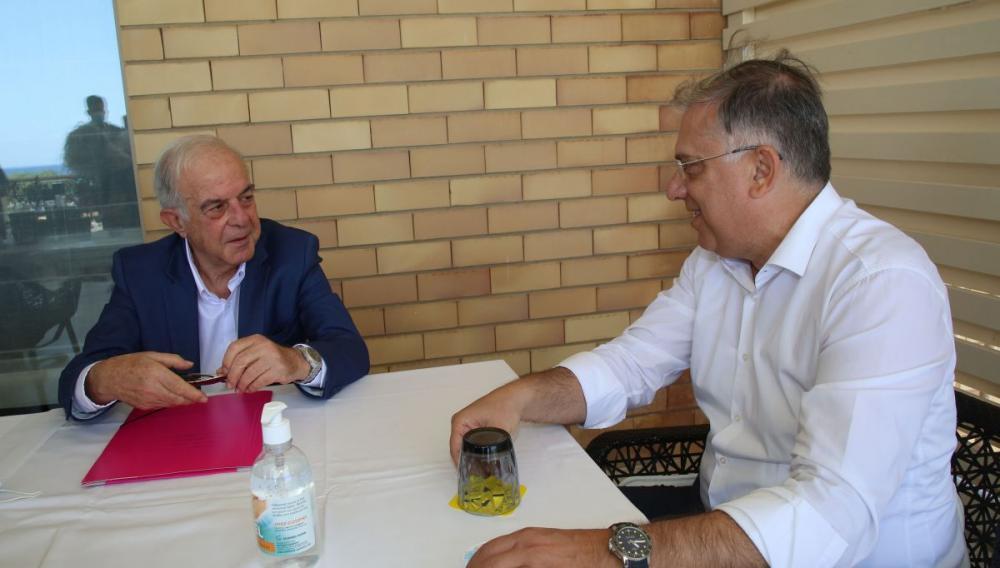 Συνάντηση Δημάρχου Ηρακλείου με Υπουργό Εσωτερικών