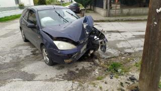 Τροχαίο στη Μεσαρά: Το αυτοκίνητο «καρφώθηκε» στην ελιά!