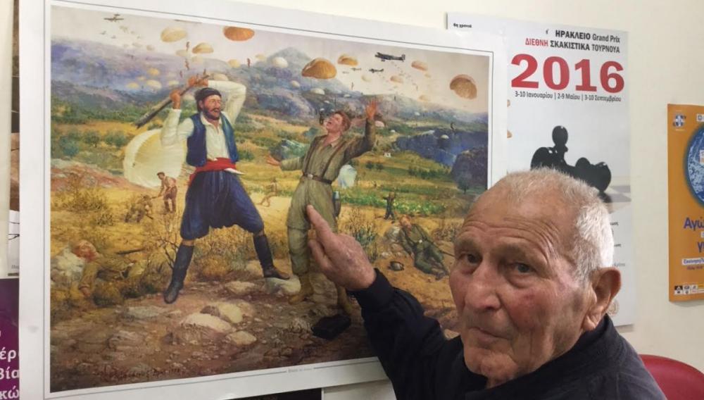 «Εφυγε»  ο τελευταίος επιζών Κρητικός πολεμιστής στο Αλβανικό μέτωπο και την Μάχη της Κρήτης
