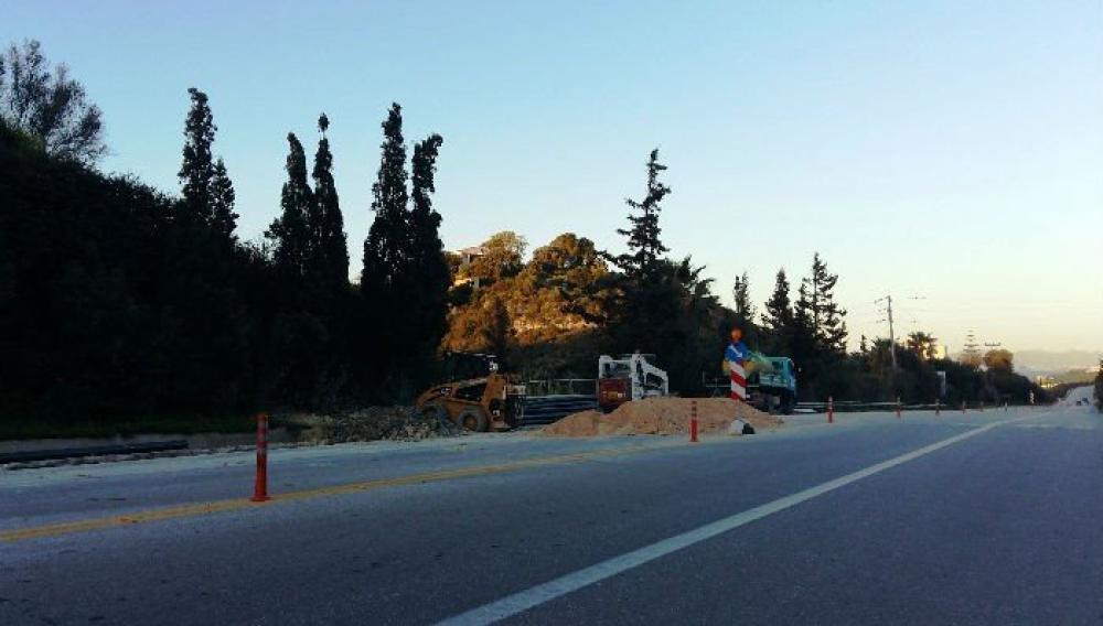 Προσωρινή διακοπή κυκλοφορίας στον Βόρειο Οδικό Άξονας Κρήτης