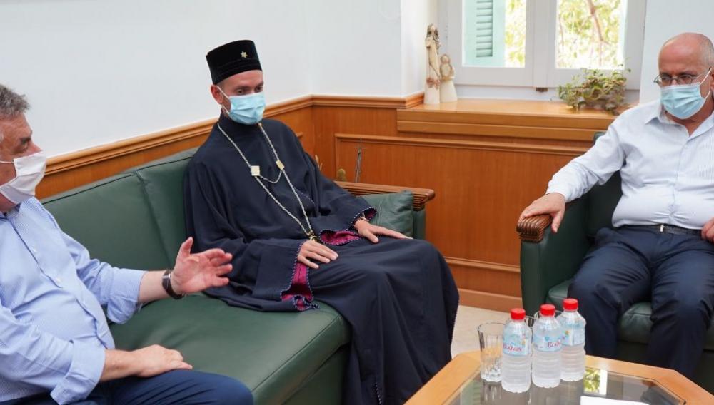 Η συνάντηση του πρέσβη του Ισραήλ με τον Περιφερειάρχη Κρήτης Σταύρο Αρναουτάκη