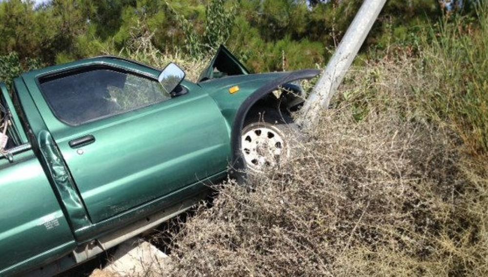 Κρήτη: Τροχαίο με εκτροπή οχήματος προκαλεσε...ουρες αυτοκινήτων!