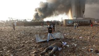 154 νεκροί από την έκρηξη της Βηρυτού
