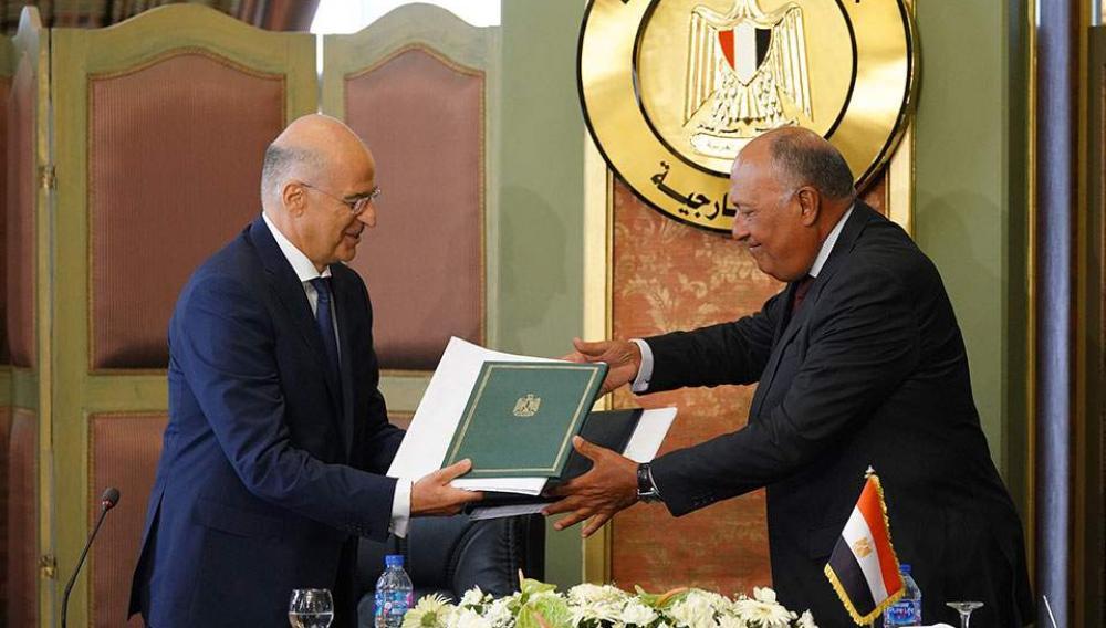 Αυτή είναι η συμφωνία Ελλάδας-Αιγύπτου για την ΑΟΖ (Έγγραφο)