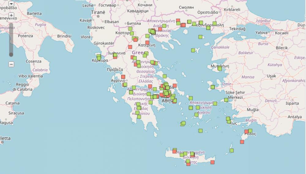 Εν δυνάμει «βόμβες» και στην Κρήτη:  Αποθήκες με νιτρικό αμμώνιο στην Ελλάδα (233 σημεία)