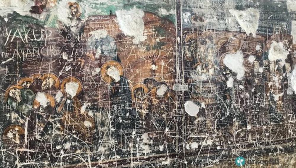 Παναγία Σουμελά: Βανδάλισαν τις βυζαντινές τοιχογραφίες