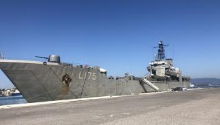 Αποστολή βοήθειας στον Λίβανο με το αρματαγωγό Ικαρία